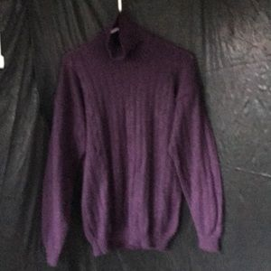 100% Alpaca hand knit sweater